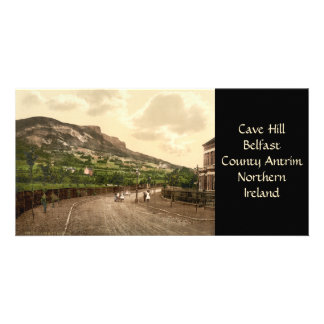 Cave Hill, Belfast, County Antrim Personalized Photo Card
