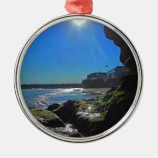 Cave in Whitby Christmas Ornament