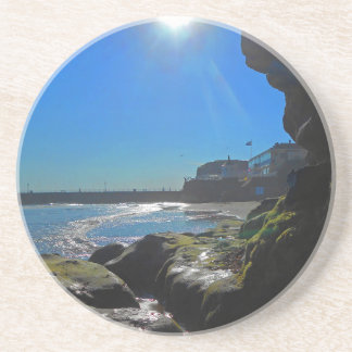 Cave in Whitby Coaster