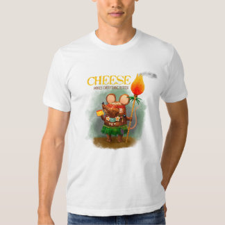 Cave Mouse Cheese lover Tees