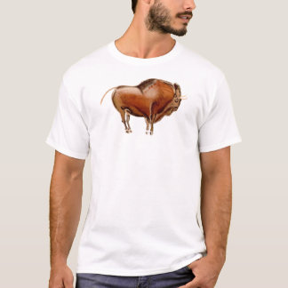 cave painting bison T-Shirt