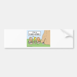 cave realty realtor fixer upper bumper sticker