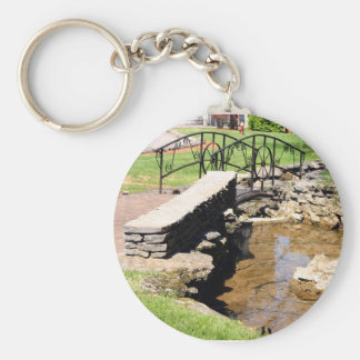 Cave Spring Creek Basic Round Button Key Ring