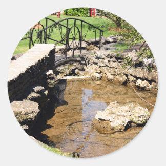 Cave Spring Creek Round Sticker