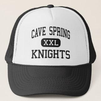Cave Spring - Knights - High - Roanoke Virginia Trucker Hat