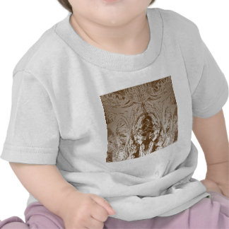Cave Style VINTAGE Gold Pattern T Shirts