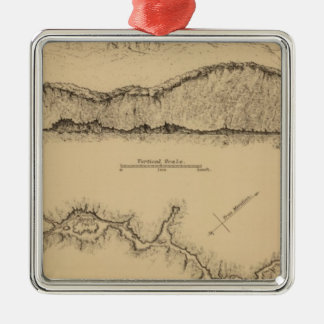 Cave Valley, Nevada Christmas Ornament