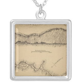 Cave Valley, Nevada Silver Plated Necklace