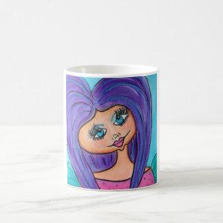 Cave Woman Mug - Purple