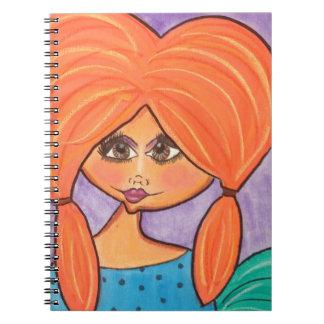 Cave Woman - Notebook - Orange