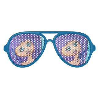 Cave Woman Sunglasses - Purple