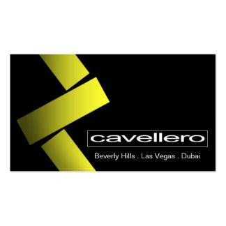 Cavellero Business Card template