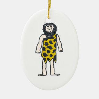 Caveman Christmas Ornament
