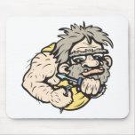 Caveman!  Customisable! Mouse Pad