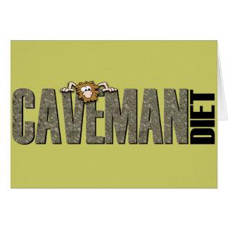 Caveman Diet Card