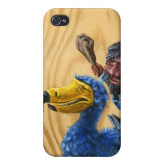 Caveman Dodo iPhone 4/4S Cases