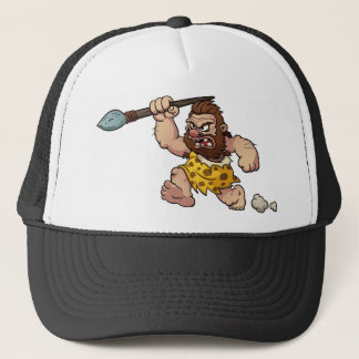 caveman trucker hat