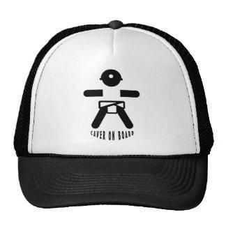 Caver on board trucker hats