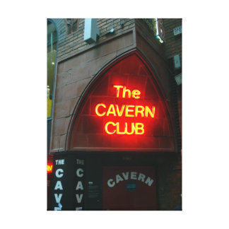 Cavern Club Gallery Wrapped Canvas