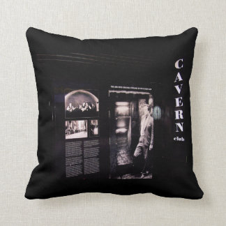 Cavern Club Original Entrance, Liverpool UK. Throw Cushions