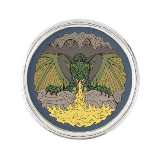 Cavern Dragon 2016 Lapel Pin