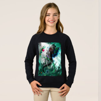 Cavern dragon Girls Sweat shirt