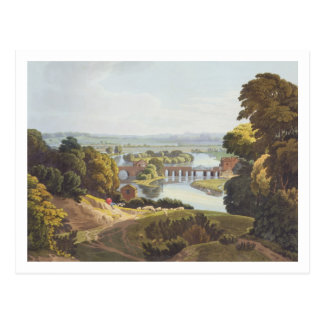 Caversham Bridge, near Reading, engraved by Robert Postcard