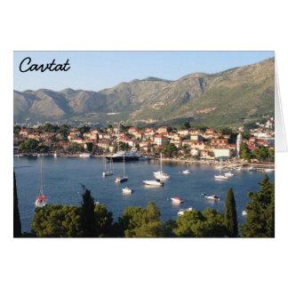 Cavtat, Croatia Card