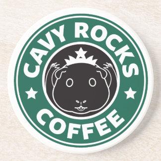 Cavy Rocks Coffee Coasters