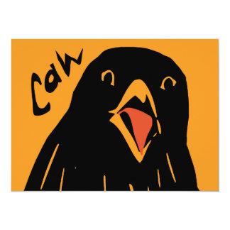 Caw! Personalized Invitation