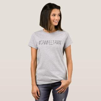 #cawfeetawk grey t-shirt (no lips)