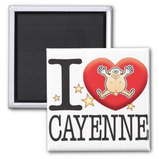 Cayenne Love Man Magnet