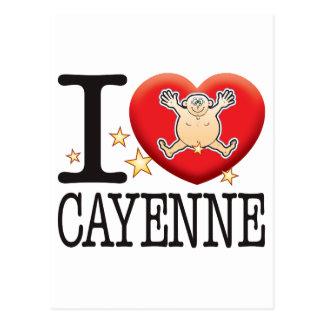 Cayenne Love Man Postcard