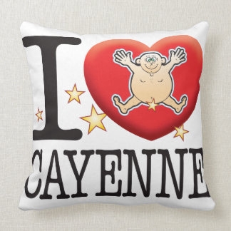 Cayenne Love Man Throw Pillow
