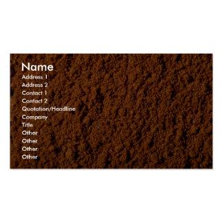 Cayenne pepper business card template