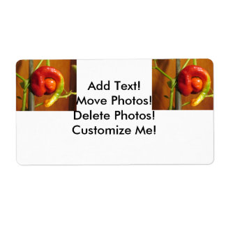 Cayenne Pepper Shipping Label