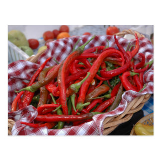 Cayenne Peppers Postcard