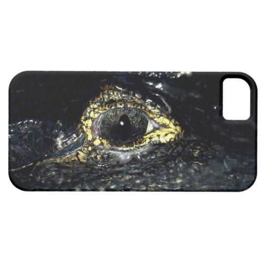 Cayman Crocodile Eye Reptile iPhone 5 Case