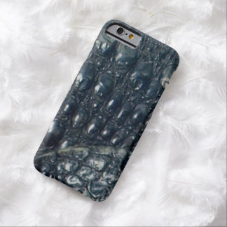 Cayman Crocodile Skin Reptile Design Barely There iPhone 6 Case
