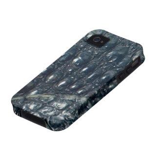 Cayman Crocodile Skin Reptile iPhone 4 Case