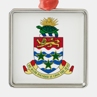 Cayman Islands Coat of Arms Christmas Ornament