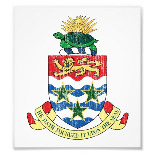 Cayman Islands Coat Of Arms Photo
