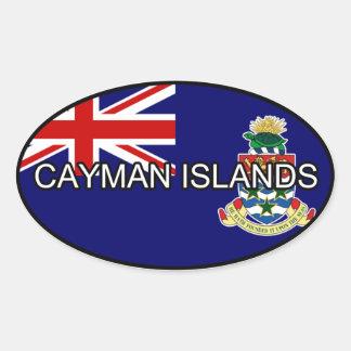 Cayman Islands Euro Sticker