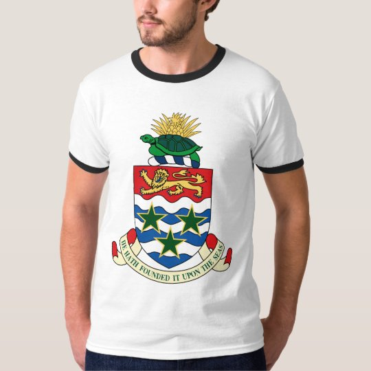 Cayman Islands Official Coat Of Arms Heraldry T-Shirt