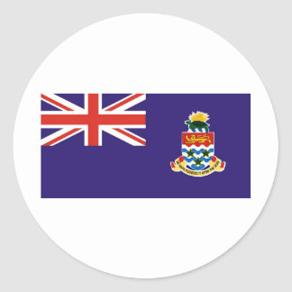 Cayman Islands Round Sticker