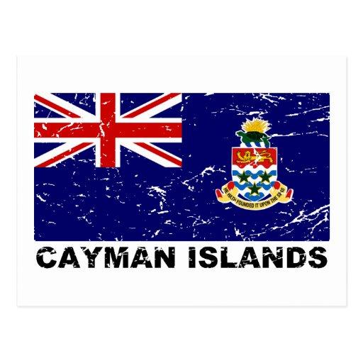Cayman Islands Vintage Flag