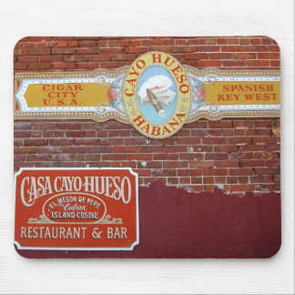 Cayo Hueso Sign Mouse Pads