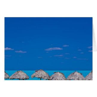 Cayo Santa Maria, Villa Clara, Cuba Card