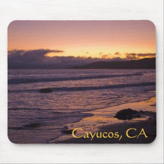 Cayucos, CA Beach Sunset Mouse Pad