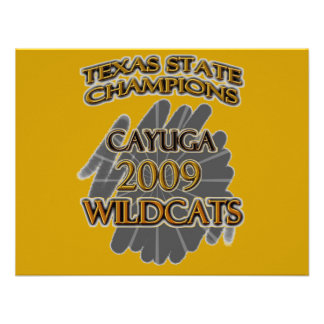 Cayuga Wildcats 2009 Texas State Champions Custom Announcement